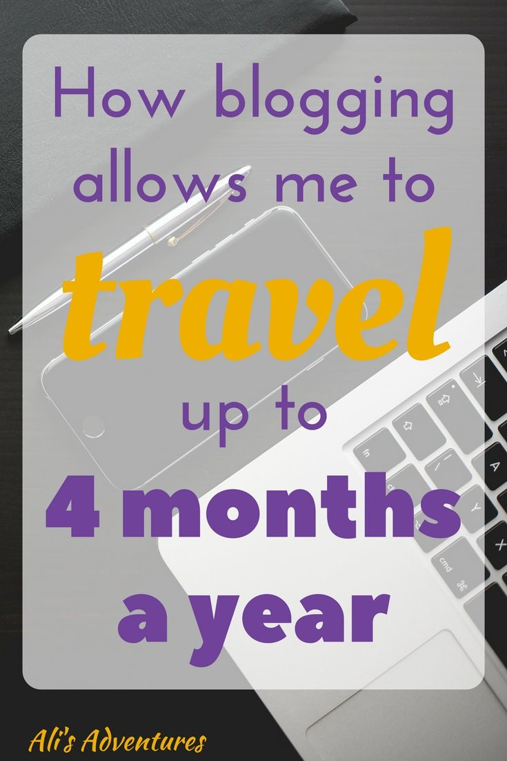 I travel a lot, and people often wonder how. Travel is my passion, so I made it a priority. Here's how I make money online and travel up to 4 months a year.