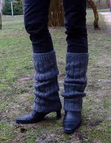 Leg Warmers...An Easy Pattern to Learn Knitting