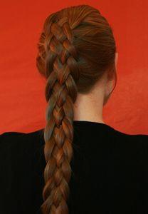 5 stranded braid #hair