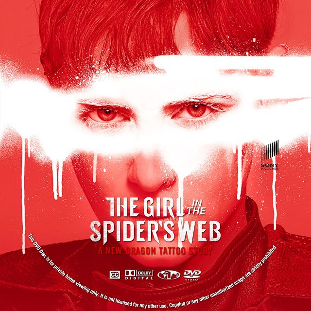 The Girl In The Spider S Web Dvd Label With Images Dvd Label