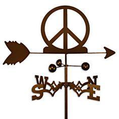 Woodstock peace sign symbol.