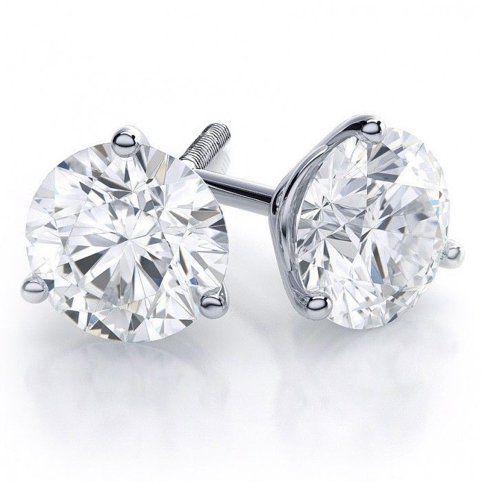 martini setting earrings 77 best images about earrings on halo 8798