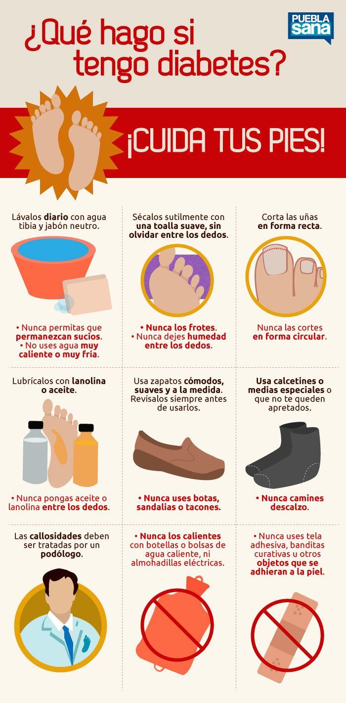 Cuida tus pies diabetes