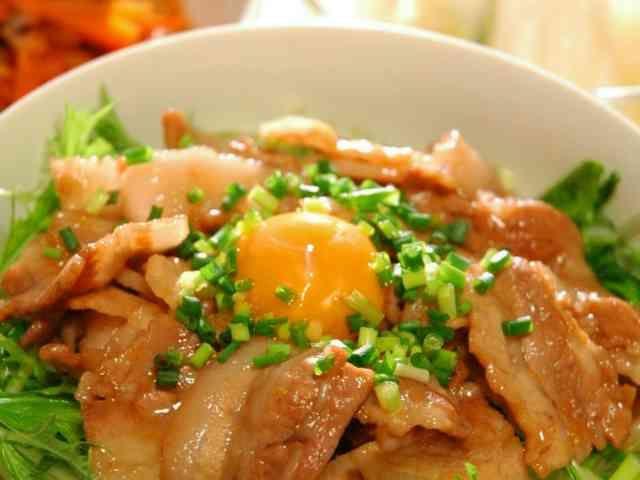 こってりダレが美味しい♪簡単☆豚丼の画像