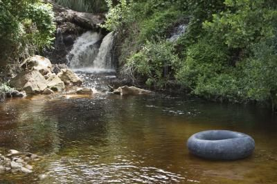 Quiet pools along the Little Cahaba are an inviting place for a swim.