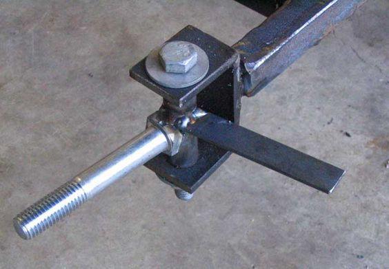 Go Kart Steering Plans - Tie Rod and Pitman Arm: