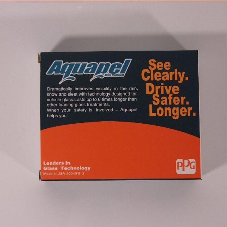 10 pcs FROM USA AQUAPEL Windshield Glass Water Rain Repellent TREATMENT APPLICATIONS Repels