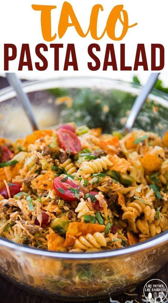 Taco Pasta Salad | Healthy Food Recipes
