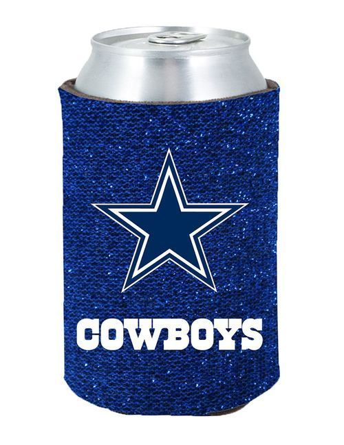 Dallas Cowboys Kolder Kaddy Can Holder - Glitter
