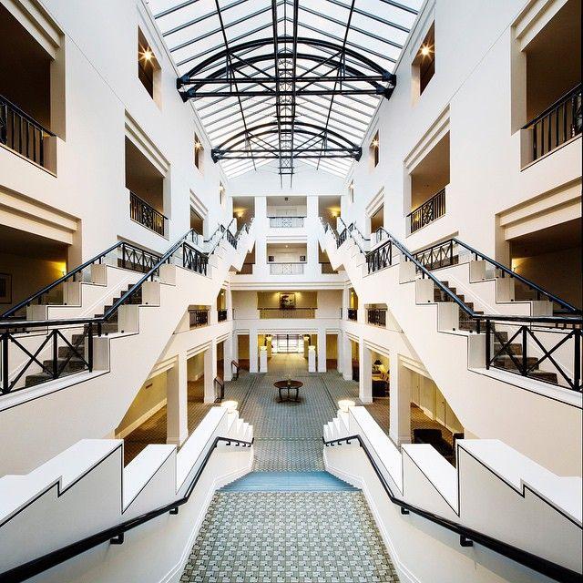 Symmetry at Park Hyatt Canberra.