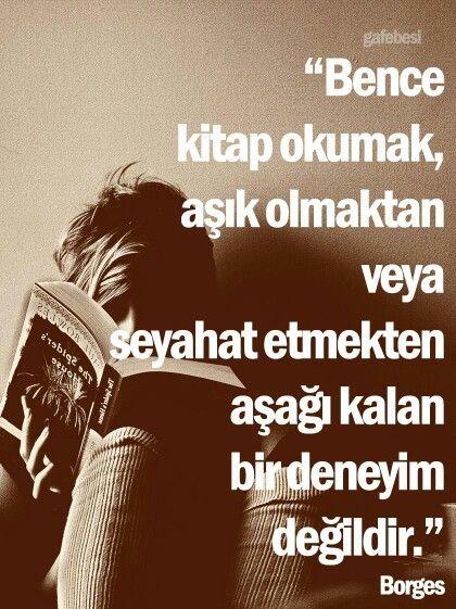 Kitap okumak
