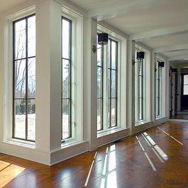 Living Room: Historic Farmhouse~Windows