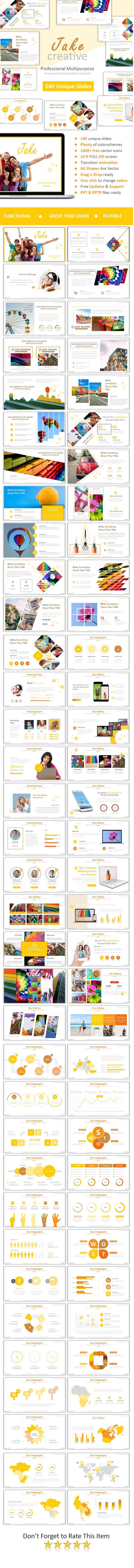 best 25+ creative powerpoint templates ideas on pinterest | power, Modern powerpoint