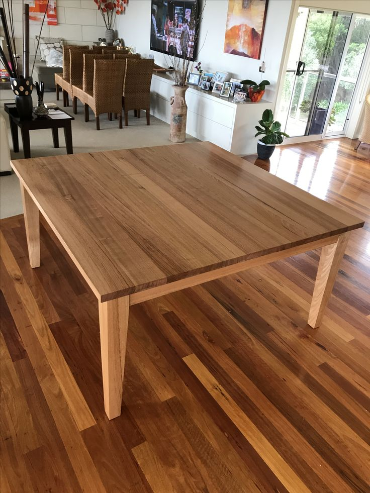 25 best ideas about timber dining table on pinterest Metal Pedestal Base Dining Table Metal Pedestal Base Dining Table