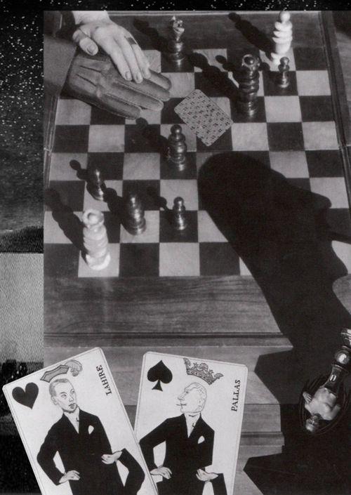 Claude Cahun, photomontage.
