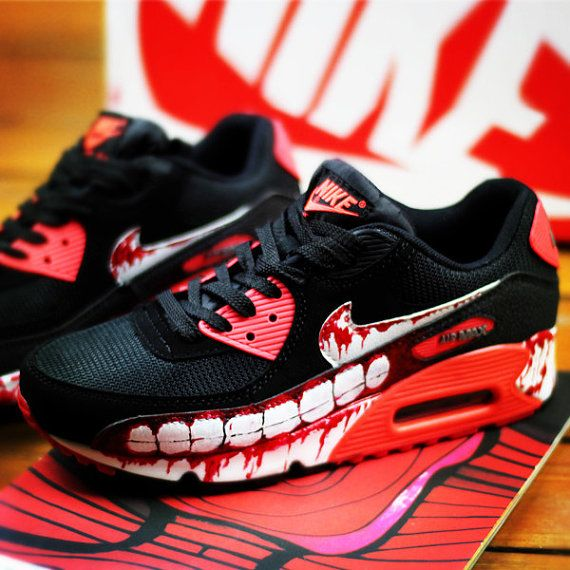 ... custom hand painted shoes nike air max by ninahandpaintedshoes ...