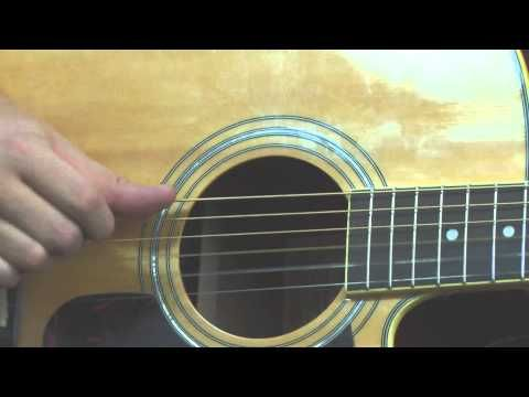 Learn James Taylor inspired acoustic guitar lesson fingerpicking pattern...