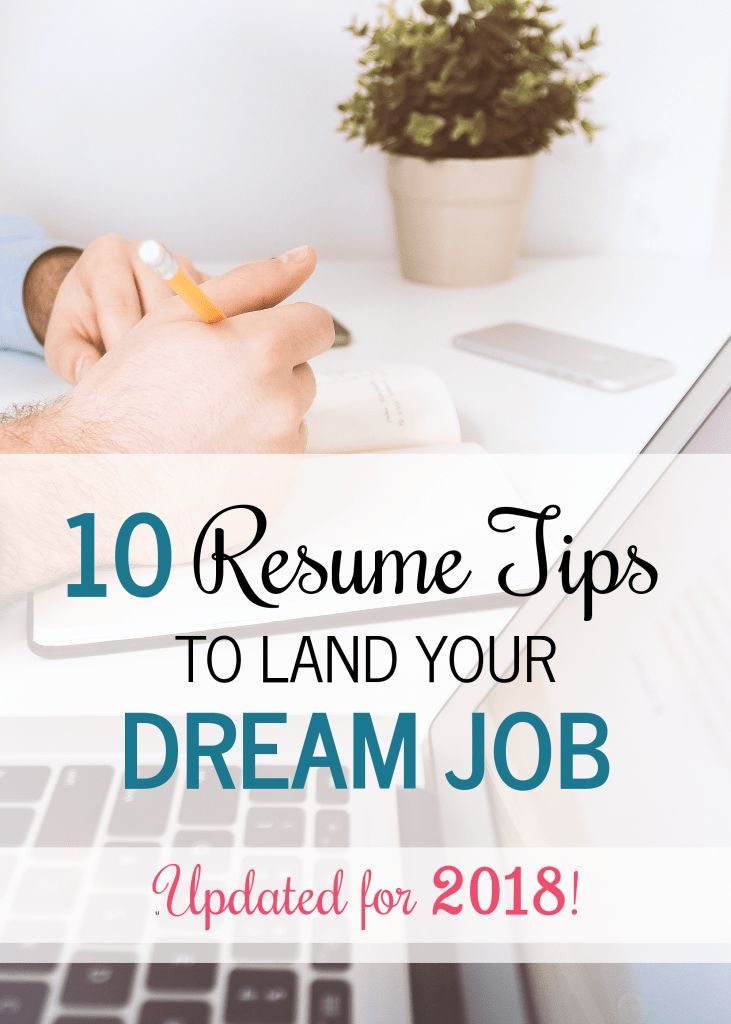 Tips from a former recruiter! Are you looking for a new job but can't figure out if your resume is up-to-snuff? Follow these awesome resume tips to beef up your resume and help you land your dream job this year! Updated for 2018, these are the most up-to-date tips. #career #resume #success