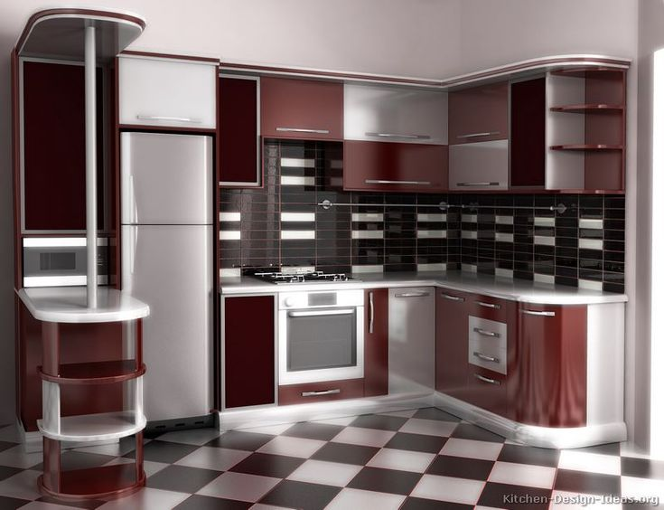 home design exotic backsplash design feats with silver red maroon cabinets over diamond pattern kitchen tile floor breathtaking red kitchen cabinets with - Maroon Kitchen Decor