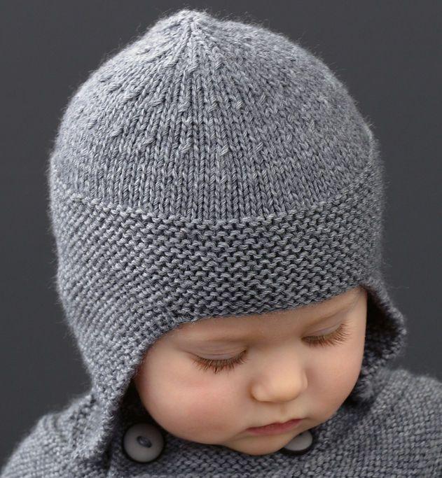 15d82aa807cbb Bonnet pour Inès - Mille & Une Choses | TEJIDOS BEBE | Tricot bonnet bébé  garçon, Bonnet tricot et Tuto bonnet tricot