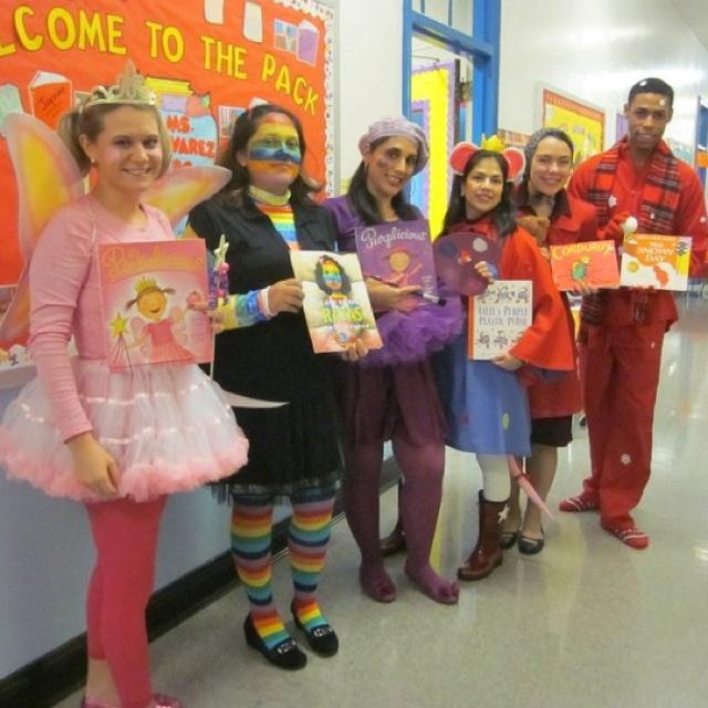 Kindergarten Team Halloween costumes | Kindergarten | Pinterest ...