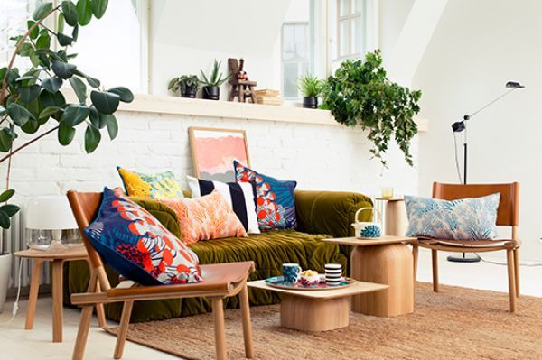 Take A Chance On This Bold Home-Decor Color Trend