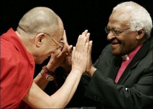 데스몬드 투투와 달라이 라마