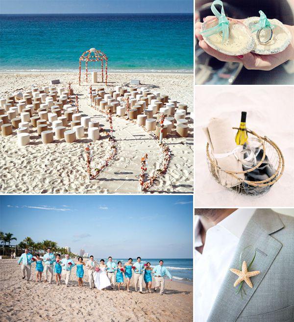 Fabulous Beach Wedding Ideas And Invitations For 2014