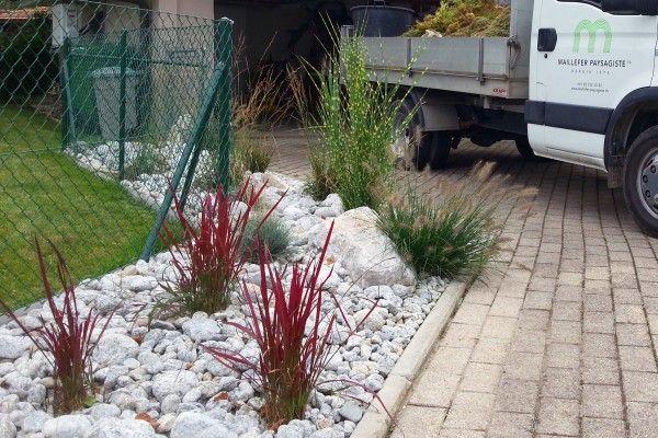 Jardin min ral et v g tal jardin min ral toitures for Amenagement jardin mineral