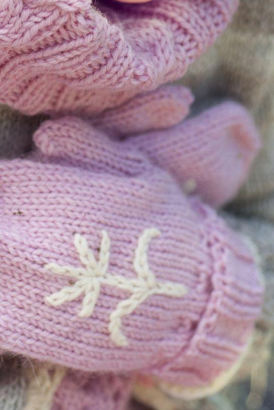 Lapsen neulotut lapaset Novita 7 Veljestä | Novita knits