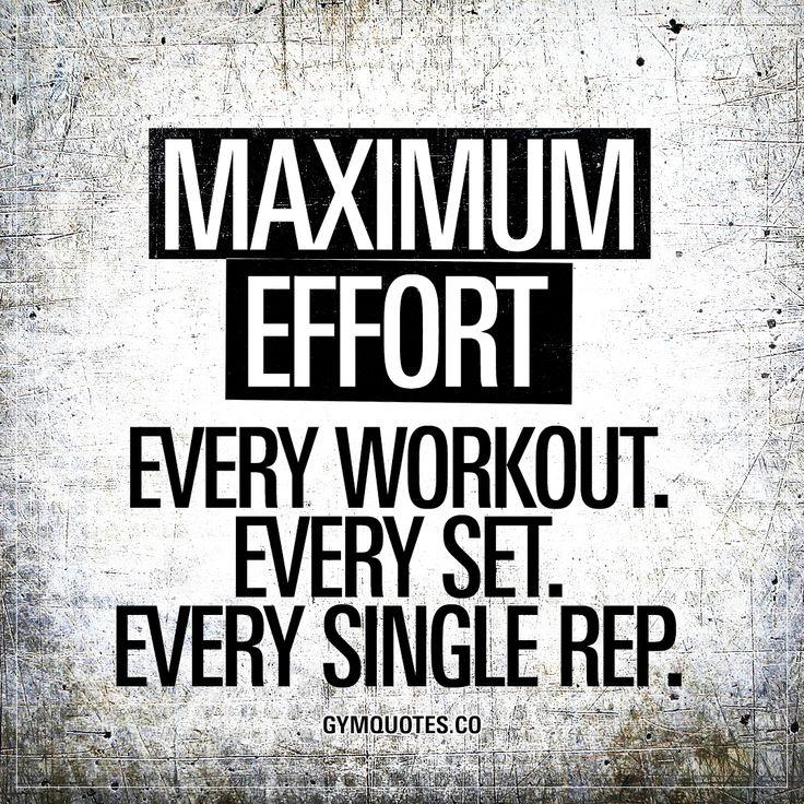 Maximum effort. Every workout. Every set. Every single rep. #always #beastmode #trainhard