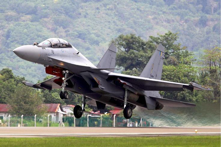 Royal Malaysian Air Force Su-30MKM [1201x800]