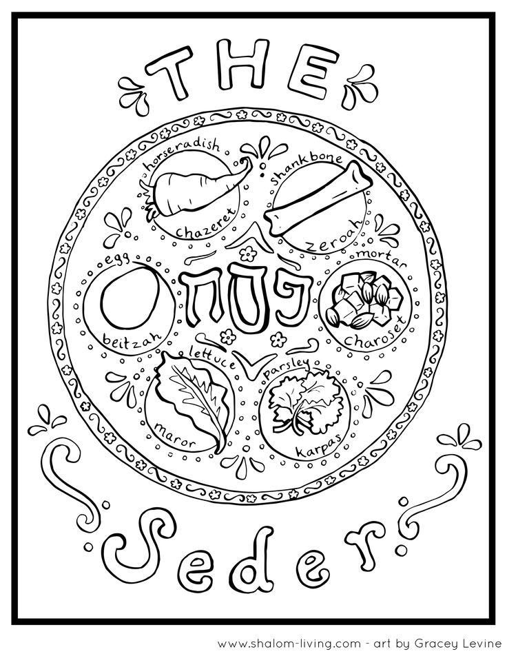 passover plagues coloring pages - photo#14
