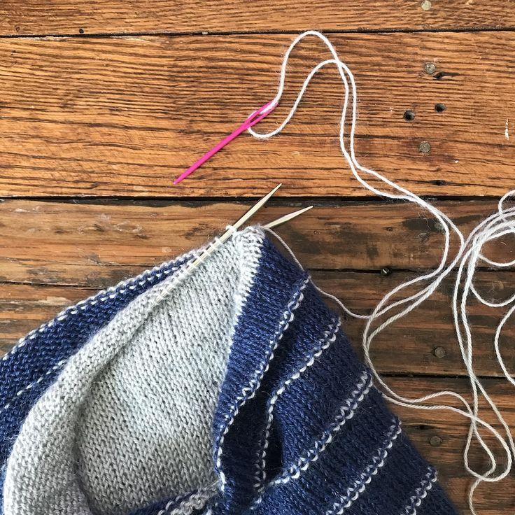 How to kitchener stitch poststitch knitting patterns