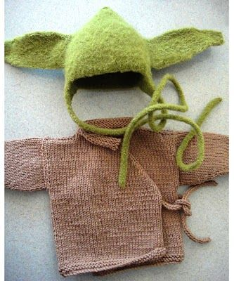 Baby Yoda Costume -- I have the feeling if I show this to ryan, he'll get really excited.