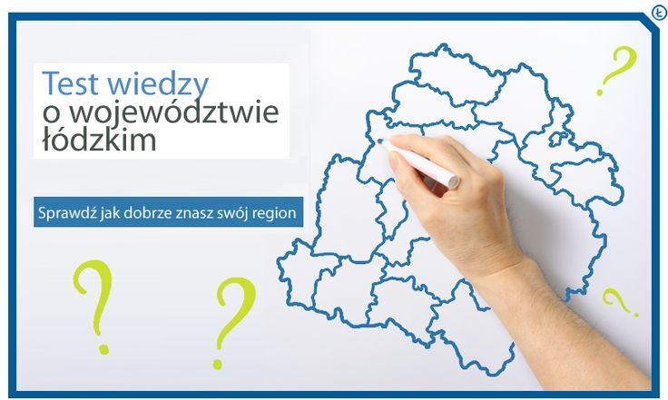 Zapraszamy do wzięcia udziału w teście wiedzy o województwie:  https://www.facebook.com/MapaProjektowLodzkiego/app_308634099277072