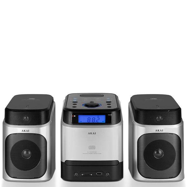 Akai A60002 CD Micro Hi-Fi System - Metallic: Image 11