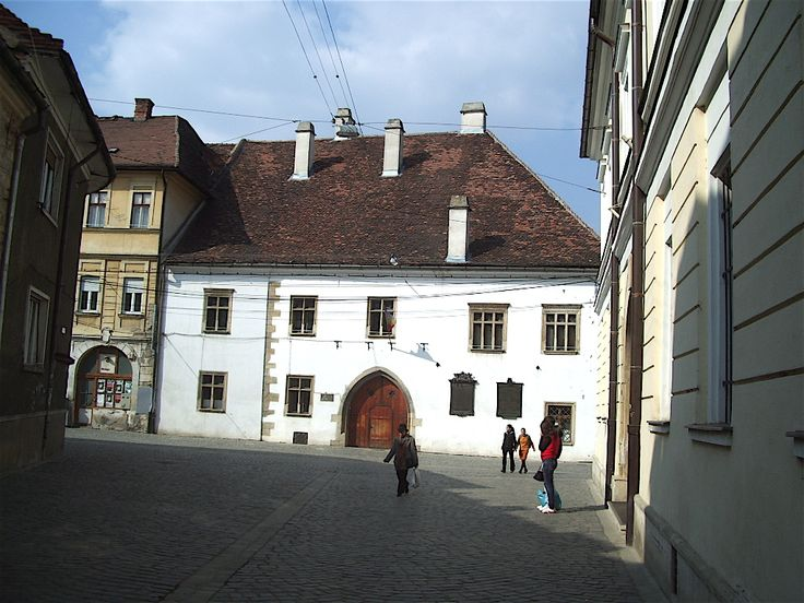 The house where Matthias Corvinus was born in Kolozsvár (present-day Cluj-Napoca, Romania)