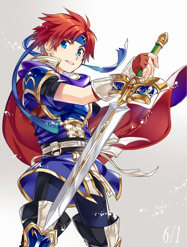 Fire Emblem Sword of Seals - Roy