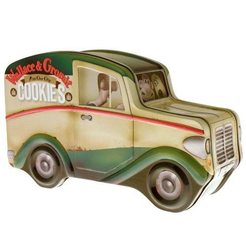 Wallace and Gromit replica van tin