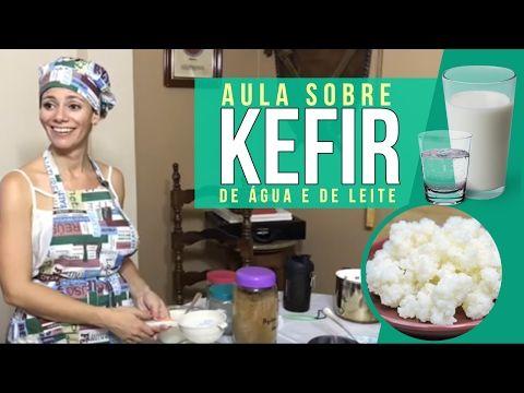 Aula sobre Kefir de Água e de Leite | Carol Pimentel - YouTube