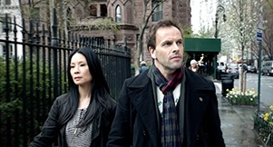 """Elementary series premiere Sept 27 on CBS... """" Jonny Lee Miller stars as detective Sherlock Holmes and Lucy Liu as Dr. Joan Watson in a modern-day drama about a crime solving duo that cracks the NYPD's most impossible cases. """""""
