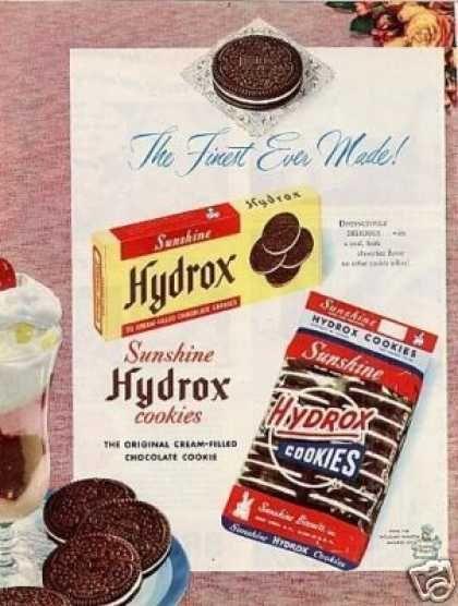 Vintage Cookie Ads | Vintage Food Advertisements of the 1950s (Page 28)