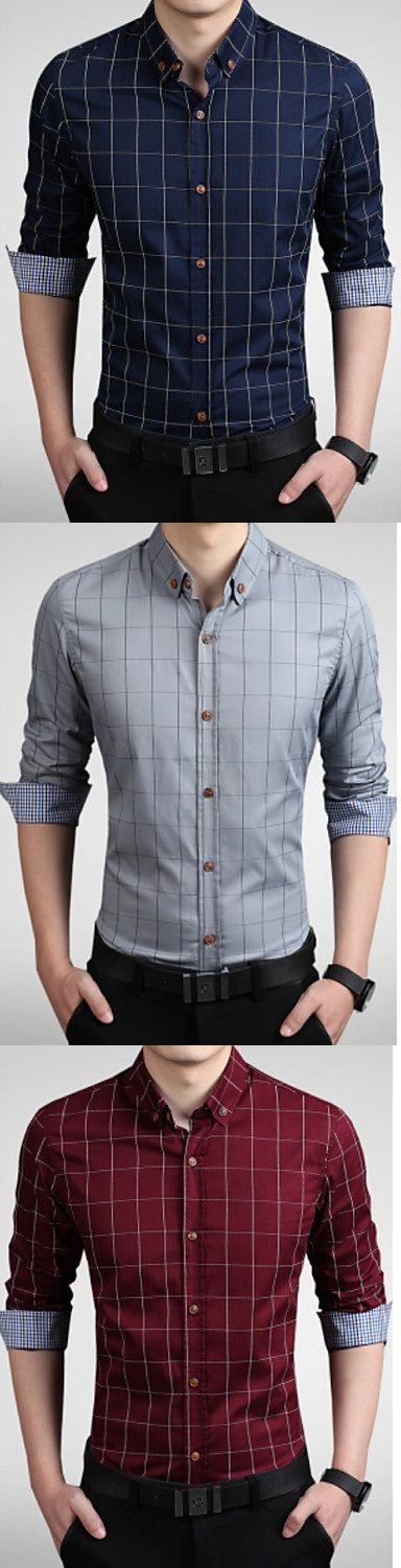 A basic gentleman shirt that can't miss in your wardrobe! What's your preferred color? Click to get it for $13 <3