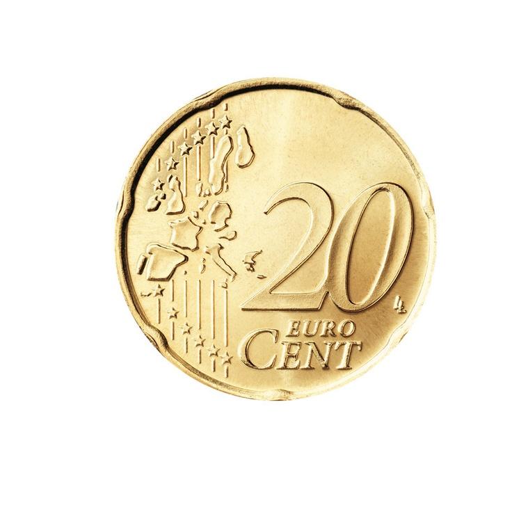 20 Centimos EUROS Moneda Europa EURO