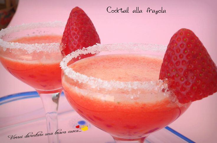 Cocktail alla fragola