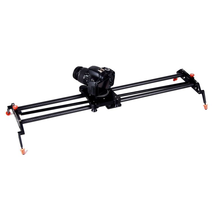 399.00$  Buy here - http://aliqem.worldwells.pw/go.php?t=32595650782 - 120 Degree Rotated Film Shooting Followed and Super Carbon-Fiber Video Slider, Video Stabilizer 399.00$