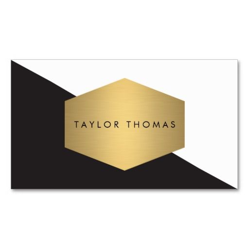 Best 13 boutiques stores and retail shops business cards images on mod geometric black and white design with gold business card reheart Image collections