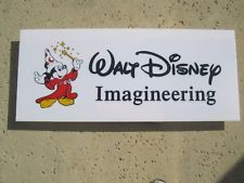 WALT DISNEY IMAGINEERING PROP MICKEY SIGN