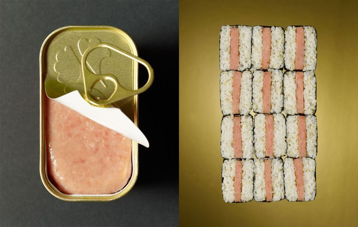 Spam Sushi l Beth Galton conceptual photography